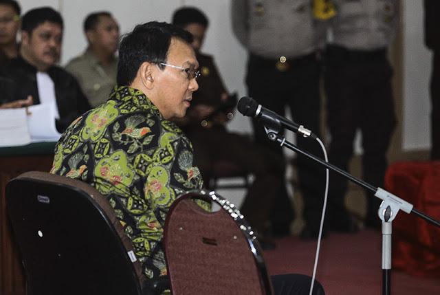 Aneh! Jaksa Anggap Andil Ahok dalam Majukan Jakarta Jadi Hal Meringankan