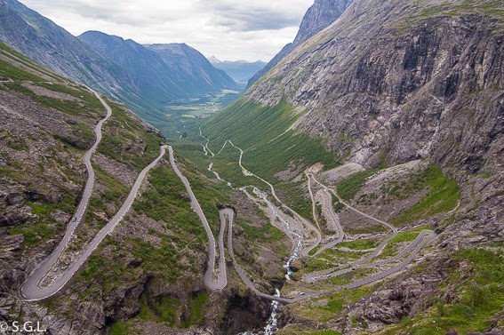 Trollstigen en Noruega