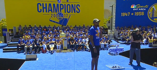 Best of The Golden State Warriors Victory Parade! (VIDEO)
