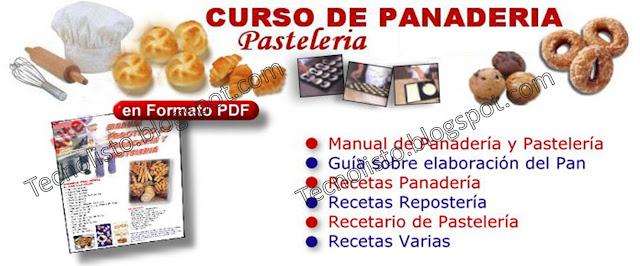 """""""Curso Manual Panadería, Pastelería y Bombones"""""""