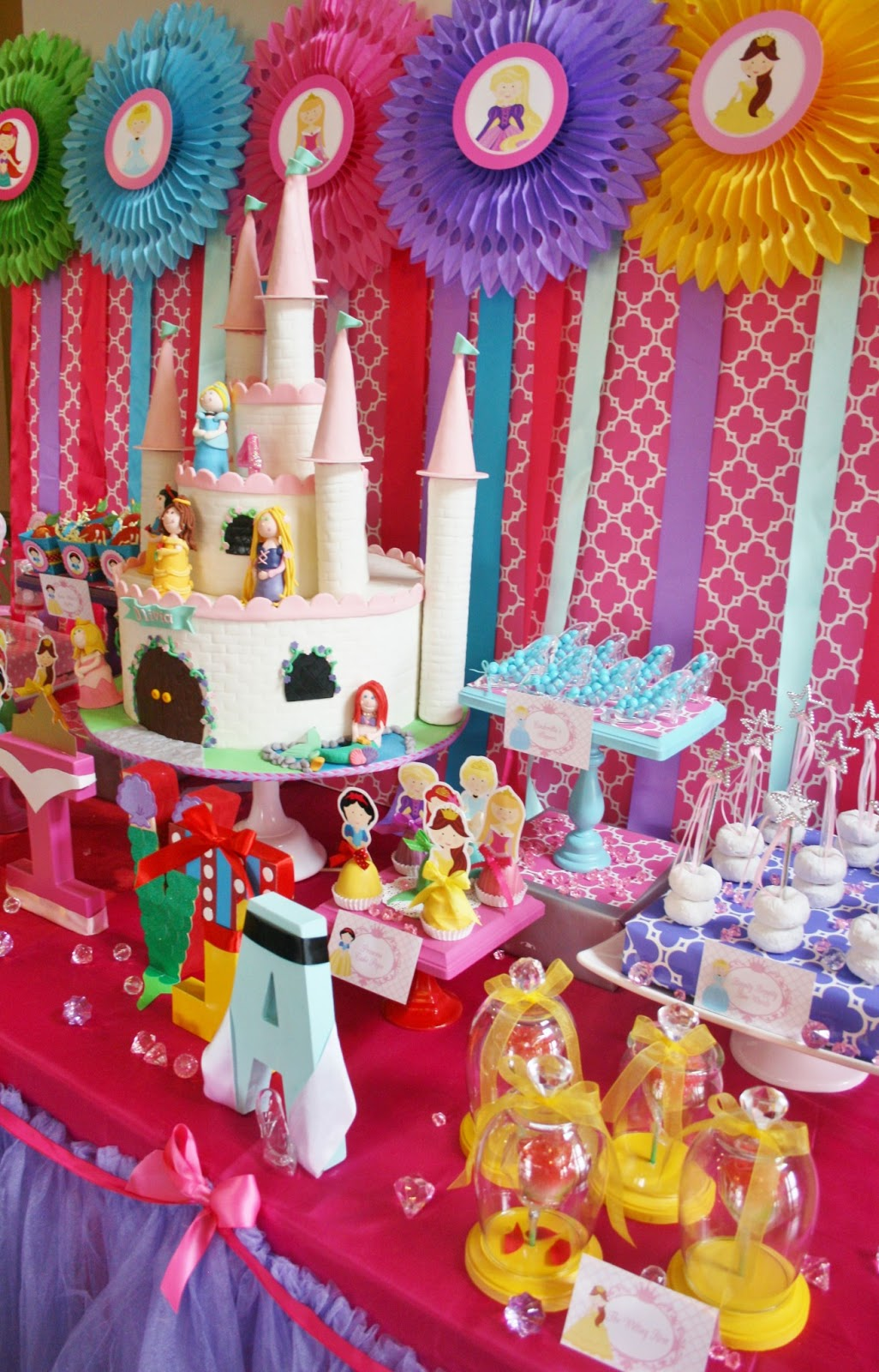 Kara's Party Ideas Pink & Gold Princess Birthday Party |Princess Birthday