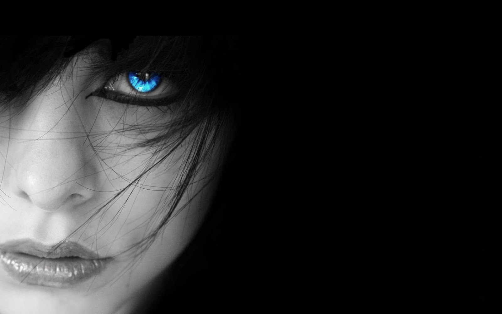 FREE HD WALLPAPER DOWNLOAD: Blue Eyes Wallpapers