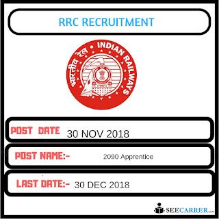 LATEST RRC North Western Railway,rercruitment-2090 Apprentice