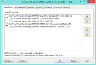 Cara Menggabungkan One Man Band (OMB) Dengan CoolSoft VirtualMIDISynth