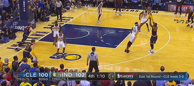 HIGHLIGHTS: Cleveland Cavaliers vs. Indiana Pacers (VIDEO) Game 4 / East 1st Round