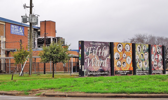Mickey Leland Academy - Fifth Ward Welcome Mural - 1510 Jensen Dr, Houston, TX 77020