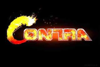 Contra Logo Writing