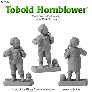 MZ624 Tobold Hornblower Mithril Miniature