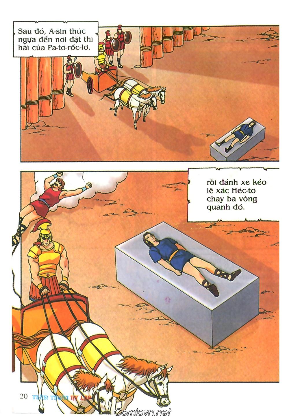 Thần Thoại Hy Lạp Màu - Chapter 62: Hector tử trận - Pic 20