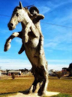 Monumento ao Ginete, Vacaria