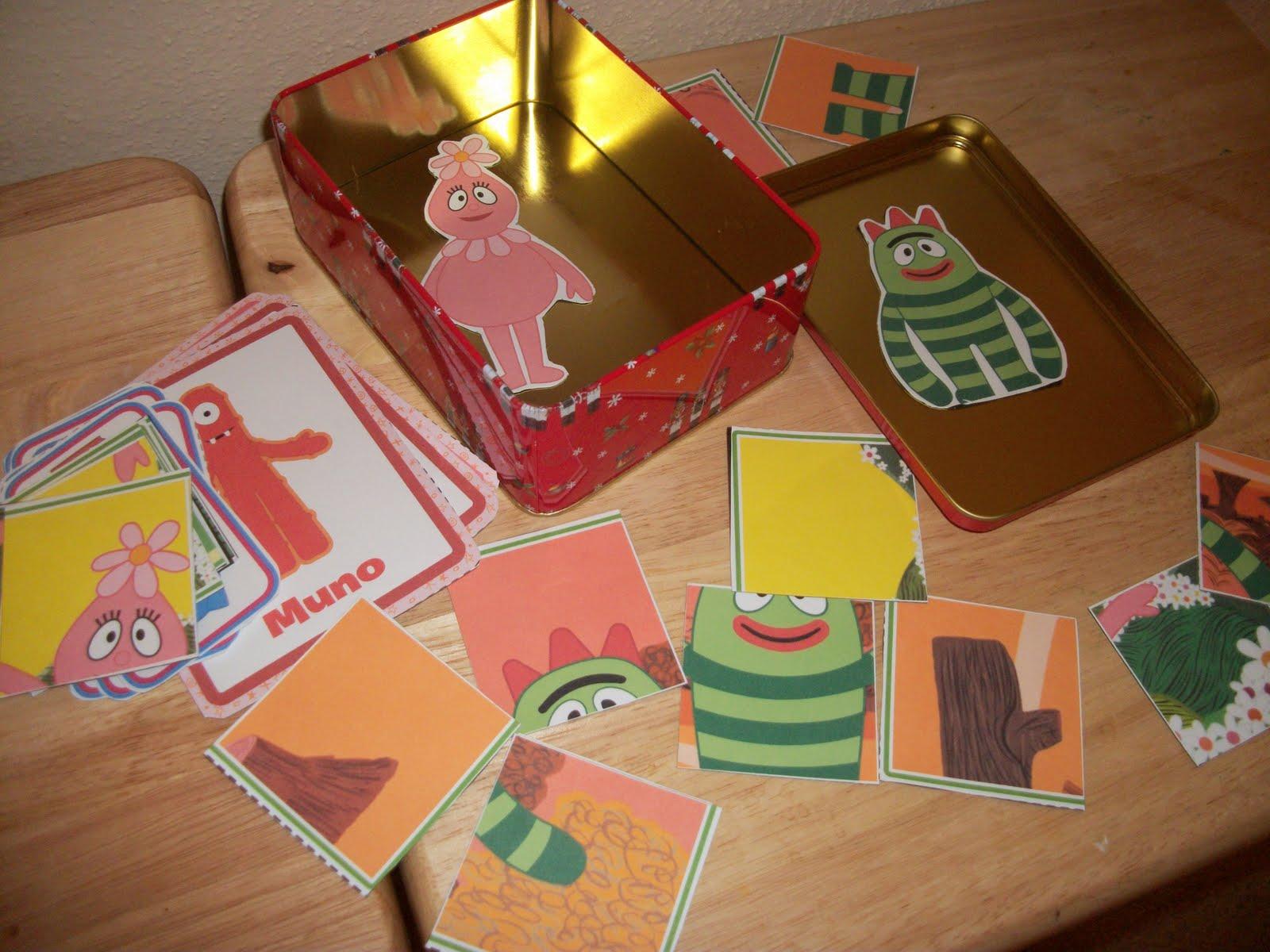 Building Rainbows Handmade Christmas Yo Gabba Gabba Magnets
