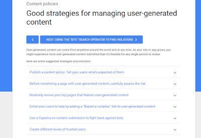 Dapat Warning atau Peringatan dari Google Adsense Karena Konten Menyesatkan