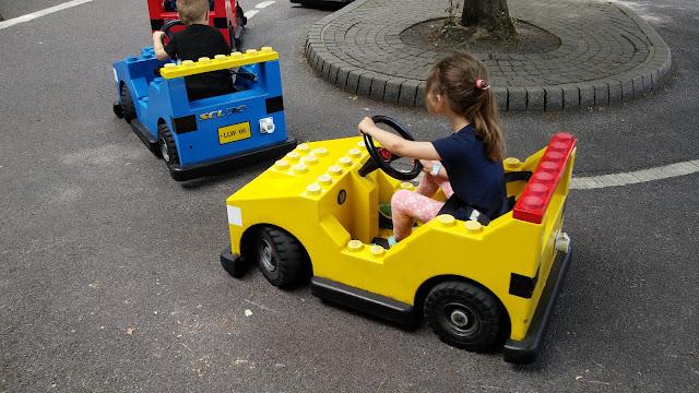 Driving Lego car