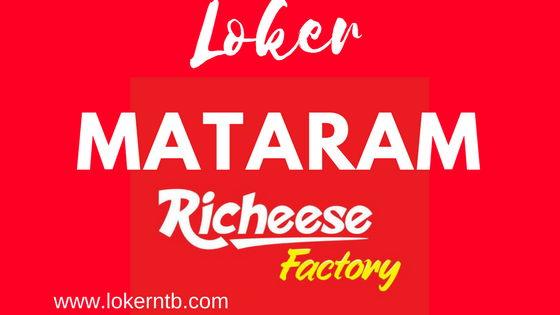 Lowongan Kerja Richeese Factory Kota Mataram bulan Februari 2018