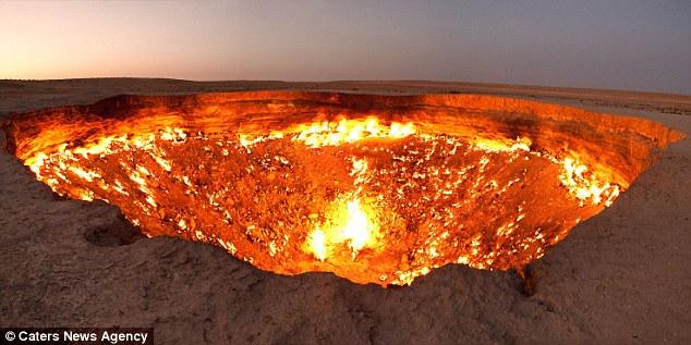 حفرة النار الخالدة