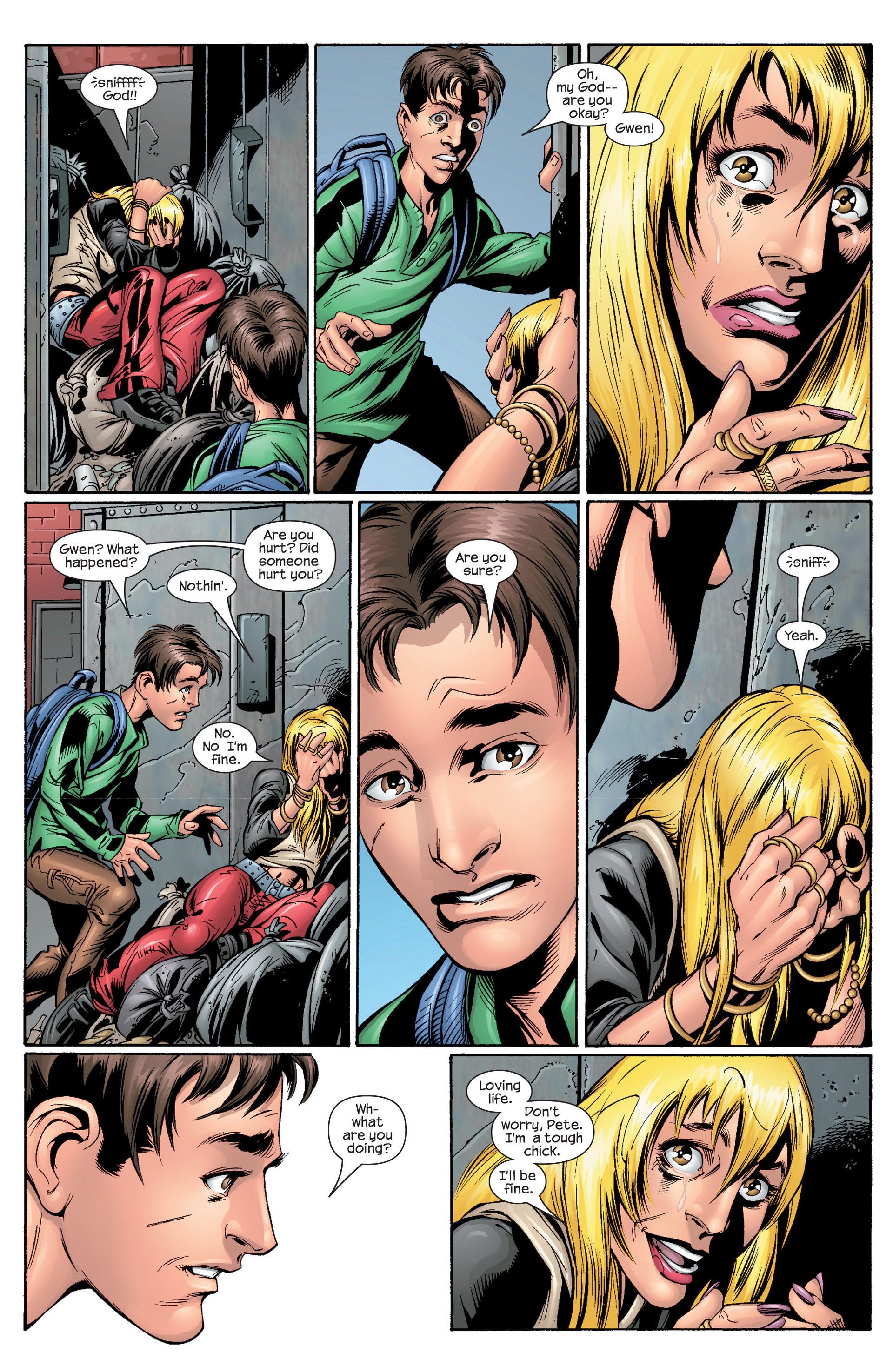 Read online Ultimate Spider-Man (2000) comic -  Issue #28 - 13