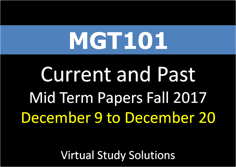 mgt101 current final term paper 2014