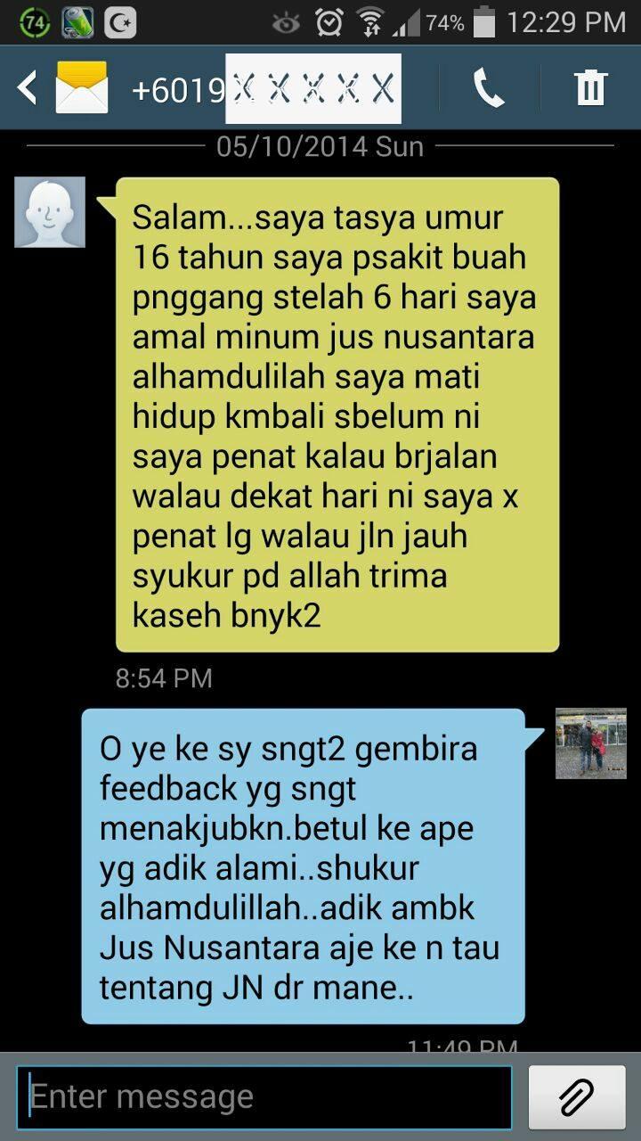 Testimoni Jus Nusantara Almas