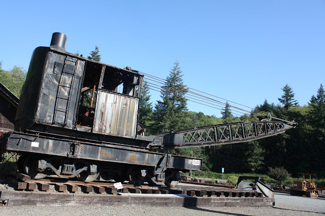 Railroad Crane at Camp 18