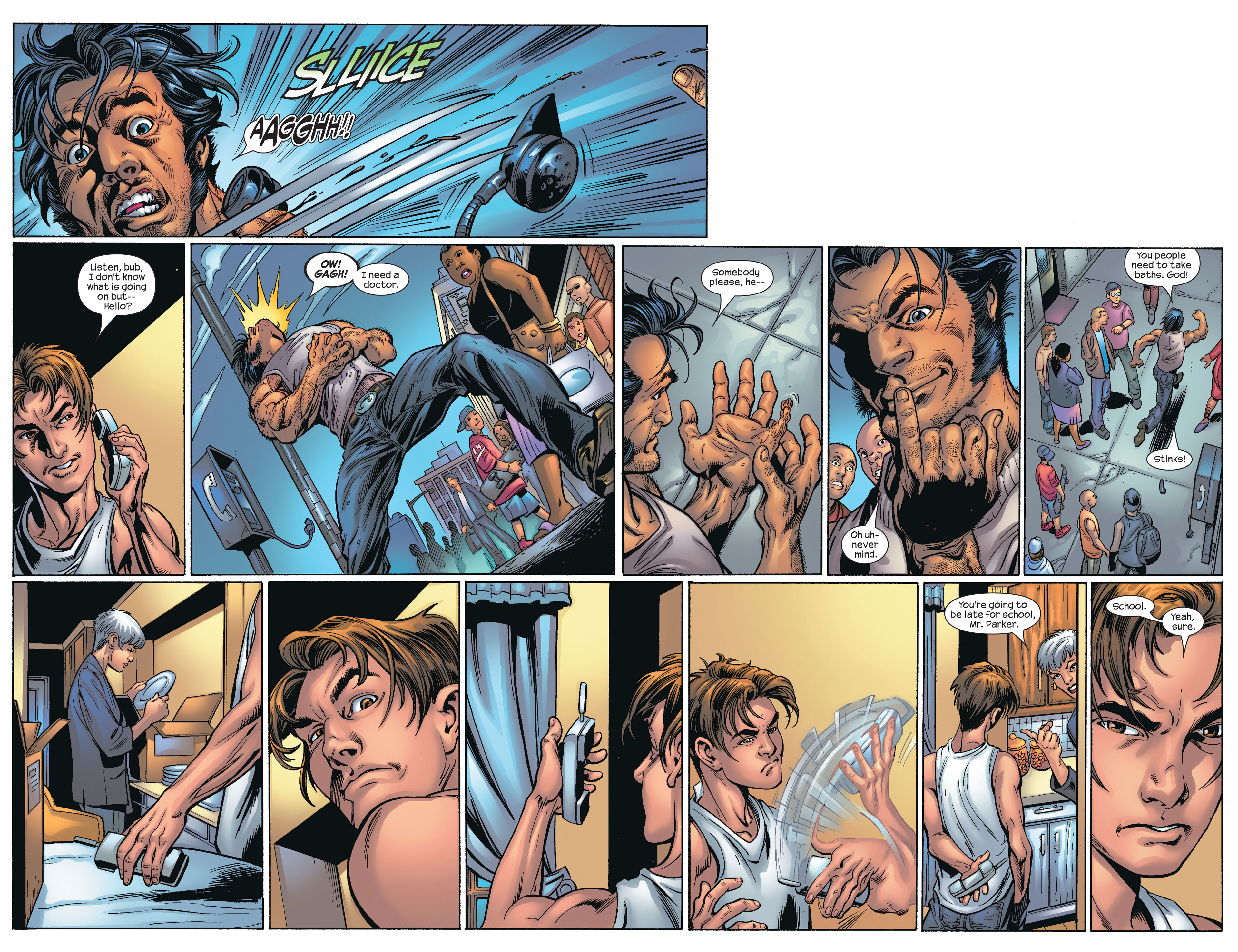Read online Ultimate Spider-Man (2000) comic -  Issue #66 - 12