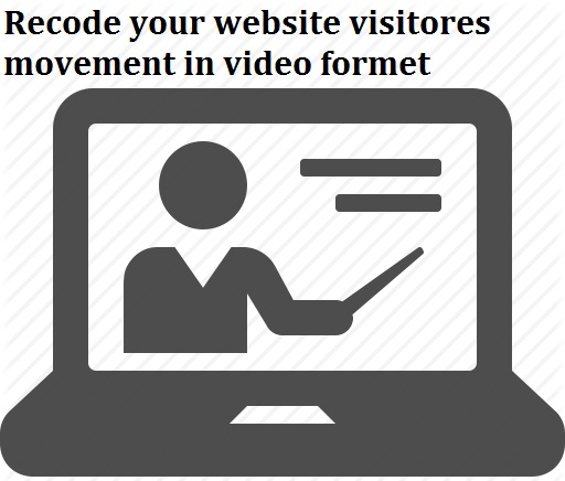 Create a video of your website visitors and track them