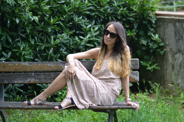abito lungo estivo