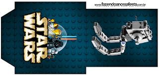 Bolsita de Té para imprimir gratis de Star Wars Lego.