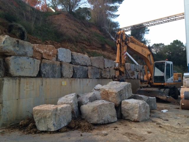 Muro de piedra roexca muros de rocalla muros de piedra - Muro de piedra natural ...