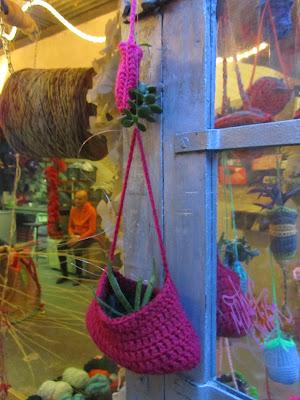 yarnbombing y plantbombing