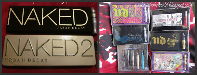 My entire Urban Decay Collection Review Links and Snaps:)