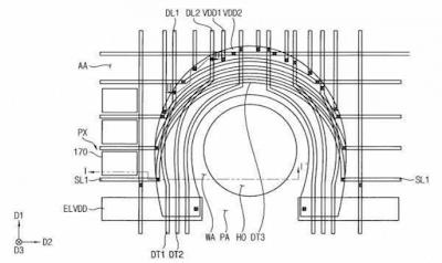Patent regarding the fingerprint sensor