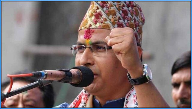 Raju Bista BJP MP candidate from Darjeeling Constituency