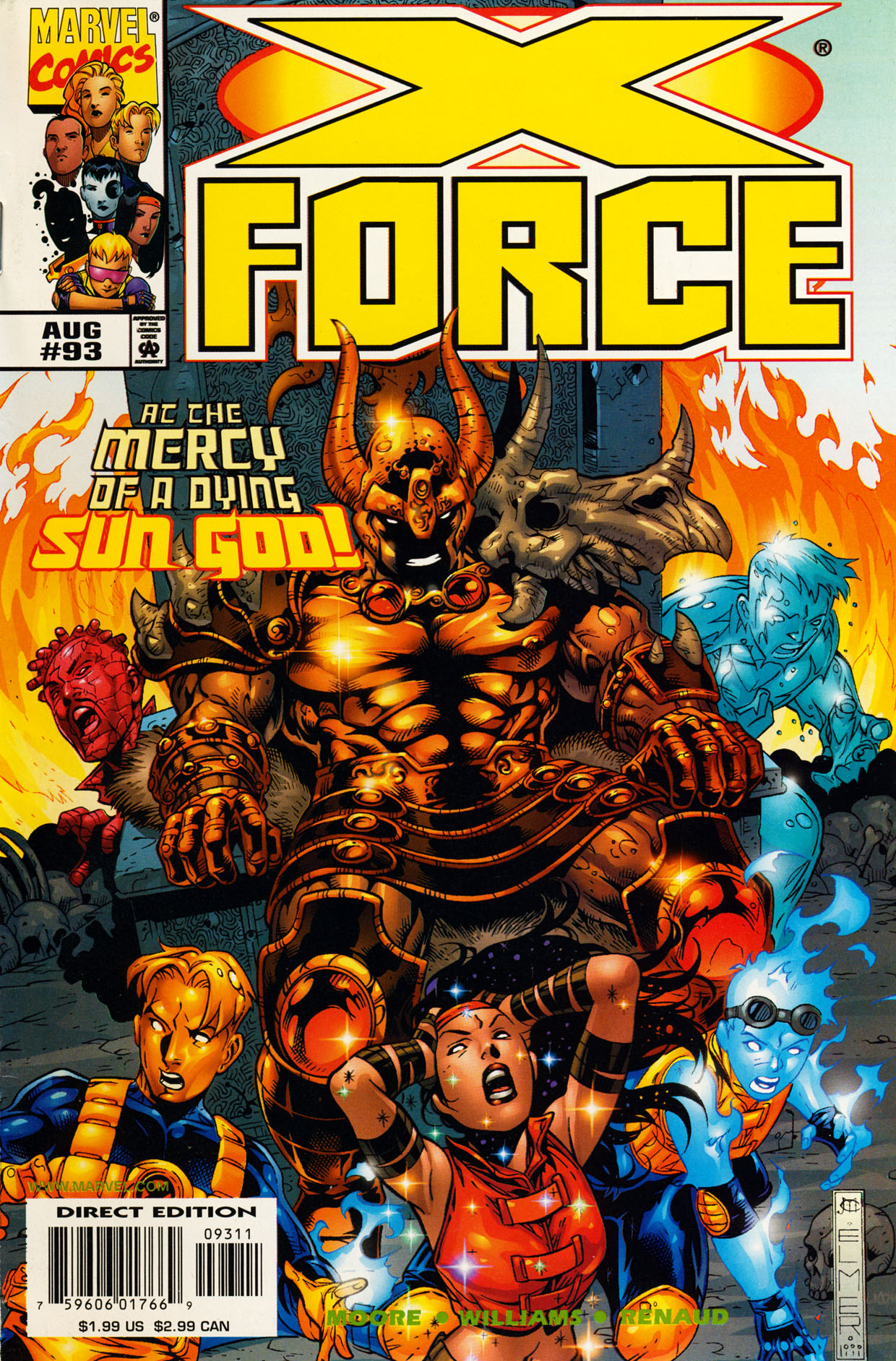 Read online X-Force (1991) comic -  Issue #93 - 1