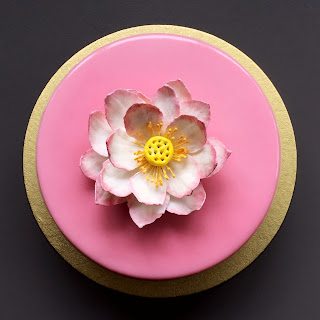 Ethereal Cakes White Chocolate Mousse Cake With A Lotus Flower