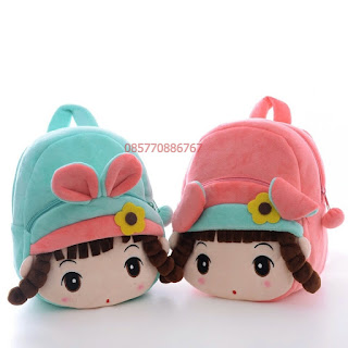 Tas Boneka Pretty Girl Warna Salem