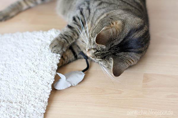 aentschies Blog: DIY Katzenspielzeug mit SnapPap