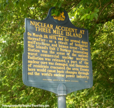Three Mile Island Nuclear Accident Historical Marker in Pennsylvania