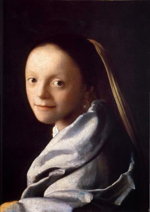 Estudo de Uma Jovem Mulher - Vermeer, Jan e suas principais pinturas