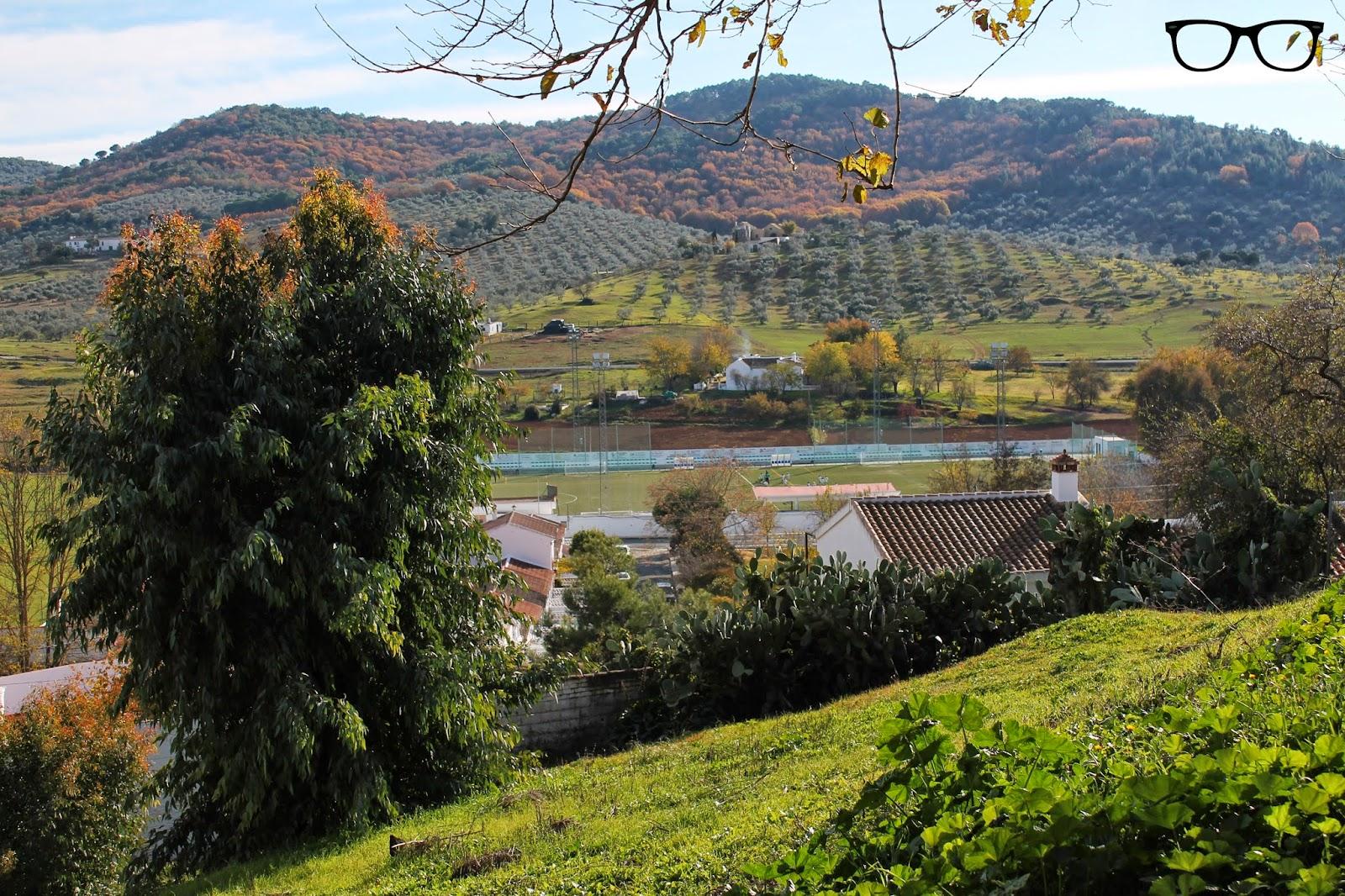 Paisaje Cazalla de la Sierra