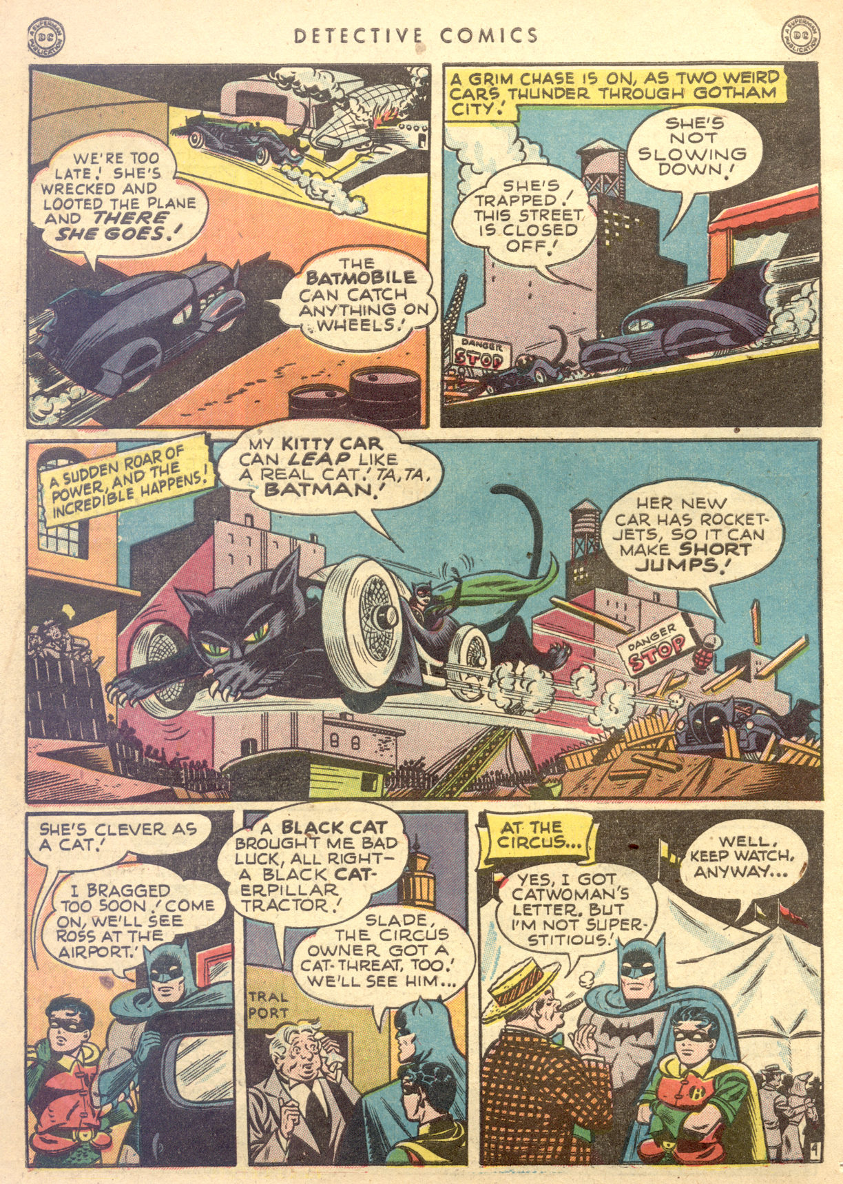 Read online Detective Comics (1937) comic -  Issue #122 - 6