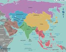 daftar nama benua terluas, paling luas dan terbesar di dunia