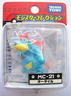 Feraligatr figure Takara Tomy Monster Collection MC series