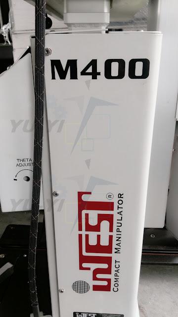 inTEST M400 compact manipulator IM4-TIVLCT