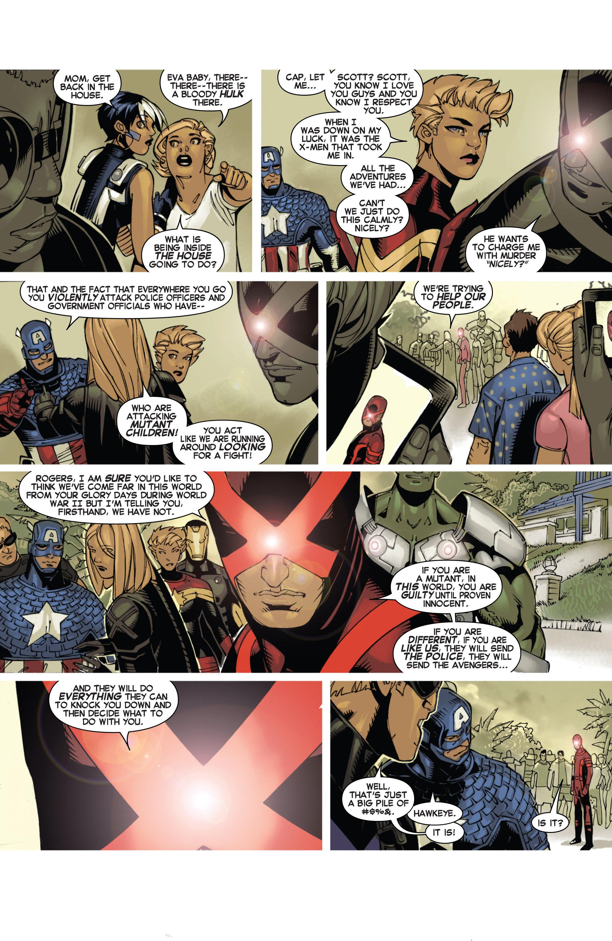 Read online Uncanny X-Men (2013) comic -  Issue #3 - 7