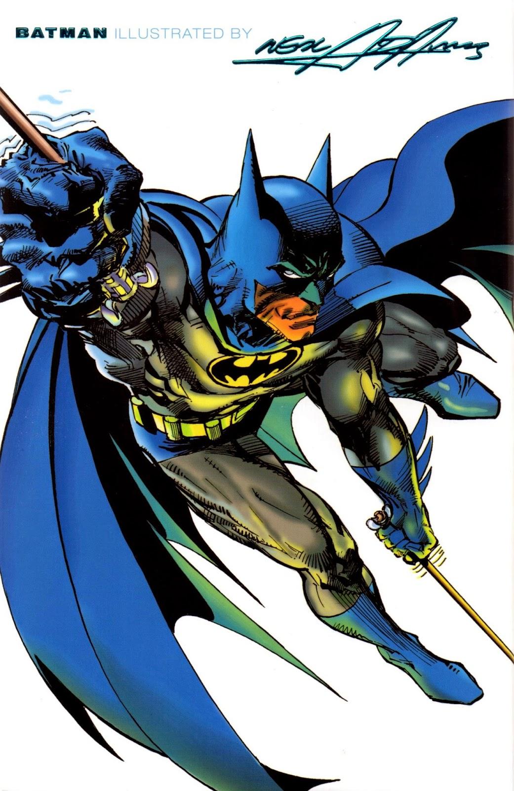 CRIVENS! COMICS & STUFF: AGAIN...NEAL ADAMS' BATMAN COVER