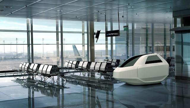 AirPod adalah sebuah unit kapsul tertutup yang didesain untuk digunakan pada tempat tempat umum seperti bandara, stasiun kereta, terminal bus, pusat perbelanjaan , kantor, dan lain sebagainya.