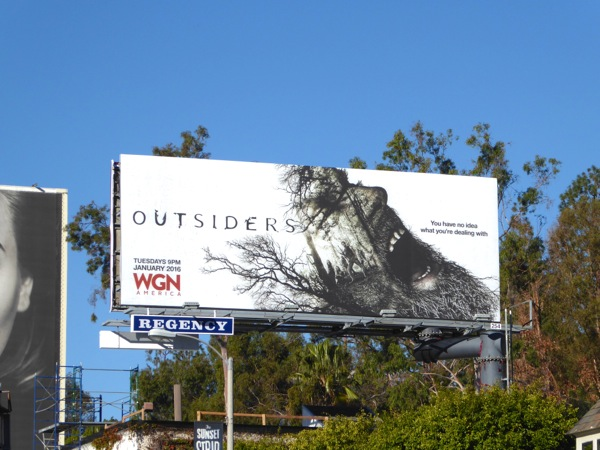 Outsiders series premiere billboard