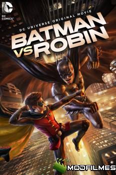 Capa do Filme Batman Vs Robin