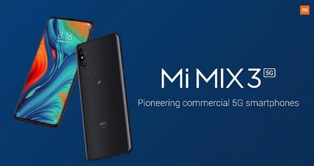 سعر ومواصفات هاتف XIAOMI Mi Mix 3 5G
