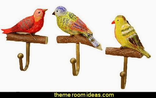 Creative Decorative Hooks Birds